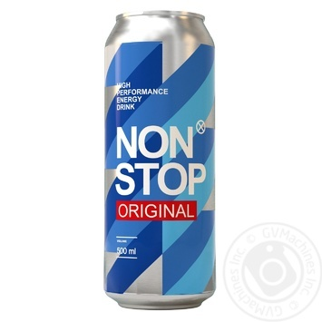 Напиток энергетический Non Stop Original 0.5л - купить, цены на МегаМаркет - фото 1