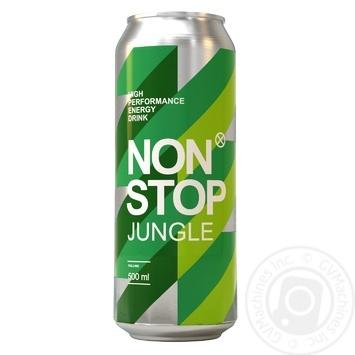 Напиток энергетический Non Stop Jungle безалкогольный 0,5л - купить, цены на Фуршет - фото 1