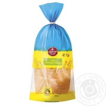 Хліб Вінниця хліб Курортний нарізаний 650г - купити, ціни на Ашан - фото 1