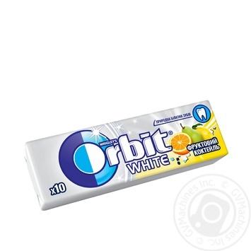 Гумка жувальна Orbit Фруктовий коктейль 14г - купити, ціни на МегаМаркет - фото 1