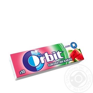Жевательная резинка Wrigley's Orbit Сочный арбуз 14г