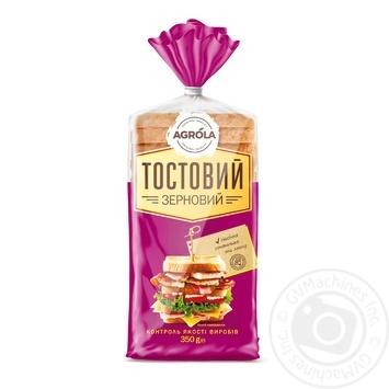 Хліб Argola тостовий зерновий 350г