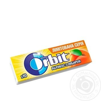 Orbit Apricot And Ginger Chwing Gum 14g - buy, prices for Tavria V - image 1