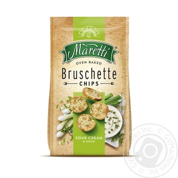 Maretti with crem and onion bruschette chips 70g - buy, prices for Metro - image 1