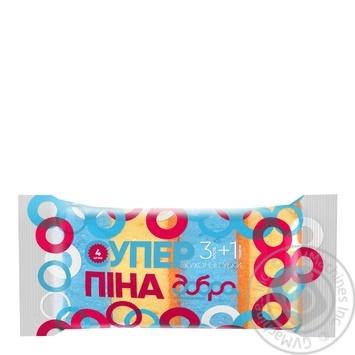 Губки кухонные Добра господарочка Супер пена 4шт - купить, цены на Novus - фото 1