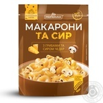 Pripravka Macaroni and cheese with mushrooms and cheddar cheese 150g