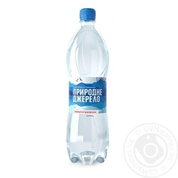 Вода Природное Джерело сильногазированная 1л - купить, цены на Фуршет - фото 1
