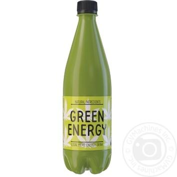 Напиток энергетический Green Energy сильногазированный 0,5л - купить, цены на МегаМаркет - фото 1