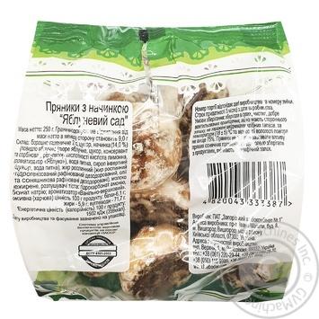 Прияники Хлібодар Яблуневий Сад с начинкой 250г - купити, ціни на Ашан - фото 2
