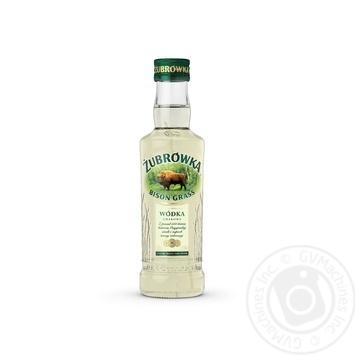 Vodka Zybrovka 40% 200ml glass bottle Poland - buy, prices for Novus - image 1