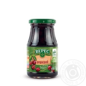 Veres Cherry Confiture 370g - buy, prices for Tavria V - image 2