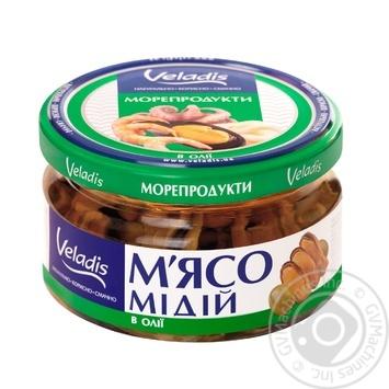 Мясо Мидий в масле Veladis 200г - купить, цены на Ашан - фото 2