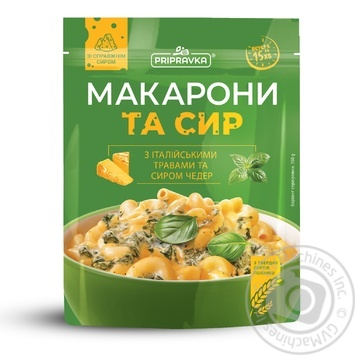 Pripravka Pasta and Cheese with Italian Herbs and Chedder 150g - buy, prices for MegaMarket - image 1