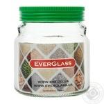 Банка Everglass стеклянная 550 мл