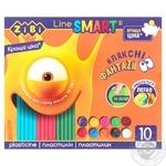 ZiBi Plasticine Smart Line 10 colors 200g