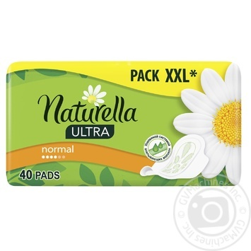 Pads Naturella Ultra Camomile Normal 40pcs - buy, prices for MegaMarket - image 1
