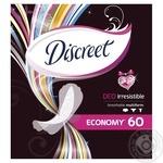 Ежедневные прокладки Discreet Deo Irresistible Multiform 60шт