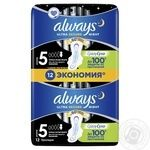 Always Ultra Night Deo Hygienical Pads 12pcs