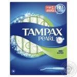 Тампоны Tampax Pearl Super Duo 18шт