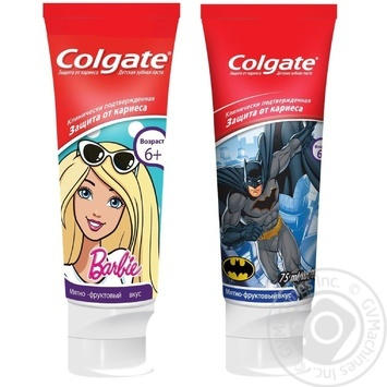 Colgate Child Toothbrush for children from 6 years gel 75 ml - buy, prices for Novus - image 1