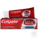 Зубная паста Colgate Optic White Мгновенный отбеливающая  75мл - купить, цены на МегаМаркет - фото 1