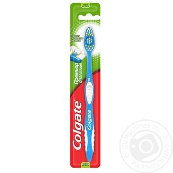 Зубная щетка Colgate Премьер Отбеливание средней жесткости - купить, цены на Таврия В - фото 1
