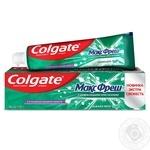 Зубная паста Colgate Макс Фреш Нежная Мята 100мл - купить, цены на МегаМаркет - фото 1