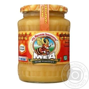 Мёд разнотравья Від Миколи Івановича Лесное 1кг - купить, цены на Восторг - фото 1