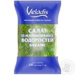 Салат из маринованных водорослей Вакаме Veladis 250г