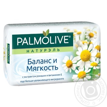 Palmolive Naturel Balance And Softness With Chamomile Extract And Vitamin E Soap 90g - buy, prices for Novus - image 1