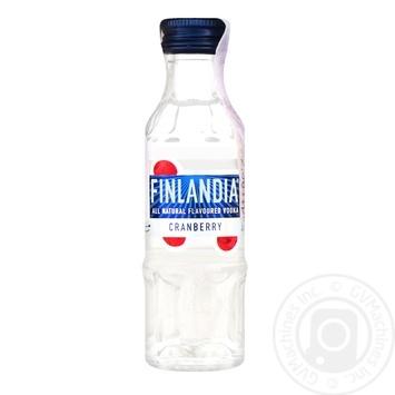 Водка Finlandia клюква 37.5% 50мл - купить, цены на СитиМаркет - фото 1