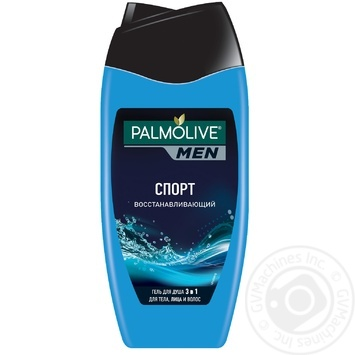 Palmolive Men Sport Regenerating Men's 3in1 Shampoo-gel for Body, Face and Hair 250ml - buy, prices for Novus - image 1