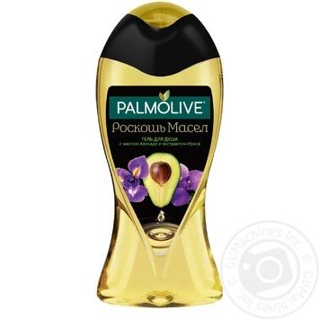 Гель для душа Palmolive Роскошь масел с авокадо и экстрактом ириса 250мл - купить, цены на Novus - фото 1