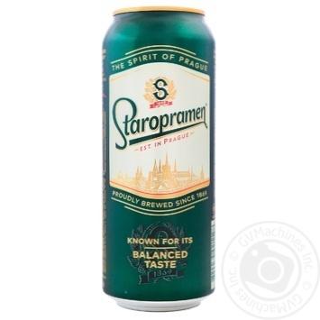 Пиво Staropramen світле 4,2% 0,5л - купити, ціни на Novus - фото 1