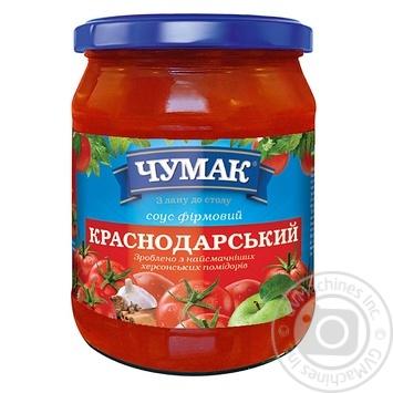 Chumak Krasnodar Sauce 500g - buy, prices for Novus - image 1