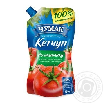 Chumak Ketchup For Shashlik 450g - buy, prices for MegaMarket - image 1