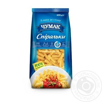 Chumak Fusilli Pasta 400g - buy, prices for MegaMarket - image 1