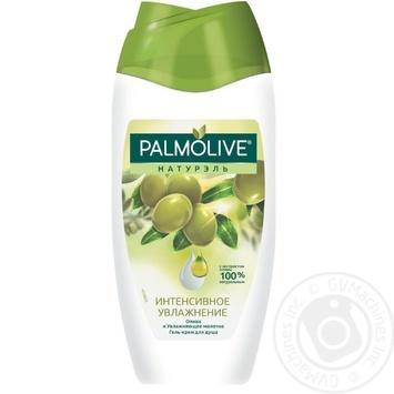 Гель-крем для душа Palmolive Натурэль Интенсивное увлажнение Олива и увлажняющее молочко 250мл - купить, цены на Novus - фото 1