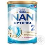 Суміш молочна Нестле Нан 2 суха для дітей з 6 місяців 400г