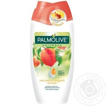 Гель-крем для душа Palmolive Натурель Мягкий и сладкий персик 250мл - купить, цены на Novus - фото 1