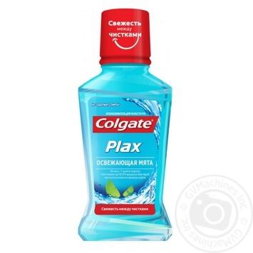 Ополаскиватель для полости рта Colgate Plax Освежающая мята уничтожает бактерии 60мл - купить, цены на Novus - фото 1