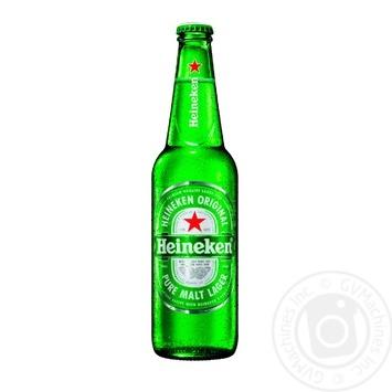 Пиво Heineken світле фільтроване пастеризоване 5% 0,5л - купити, ціни на Novus - фото 1