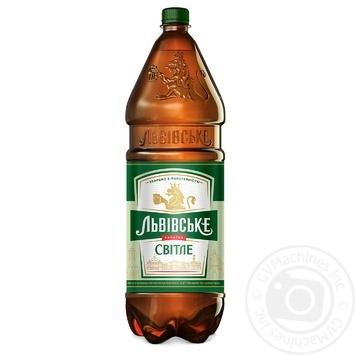 Пиво Львовское светлое 4,7% 2,4л - купить, цены на СитиМаркет - фото 1