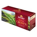 Чай черный Майский Царская Корона в пакетиках 25*2г
