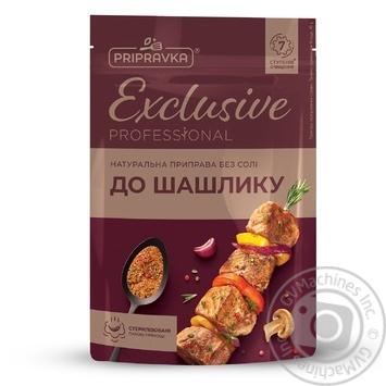 Натуральная приправа без соли для шашлыка Exclusive Professional PRIPRAVKA 45г - купить, цены на Фуршет - фото 1