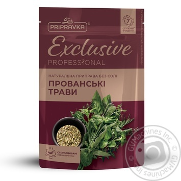 Pripravka Exclusive Professional Provence Herbs Natural Withiut Salt Seasoning 30g - buy, prices for Novus - image 1