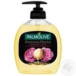 Жидкое мыло Palmolive Роскошь Масел с маслом Макадамии и экстрактом Пиона 300мл - купить, цены на МегаМаркет - фото 1