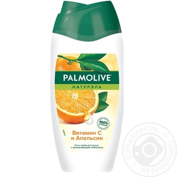 Гель-крем для душу Palmolive Натурэль Вітамін С і Апельсин 250мл - купити, ціни на ЕКО Маркет - фото 1