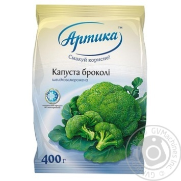 Капуста брокколи Артика быстрозамороженная 400г - купить, цены на Восторг - фото 1