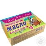Масло Заречье Крестьянское сладкосливочное 73% 200г Украина - купить, цены на Таврия В - фото 1